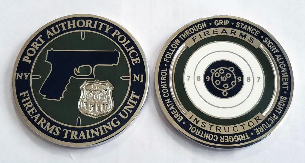 law enforcement challenge coin