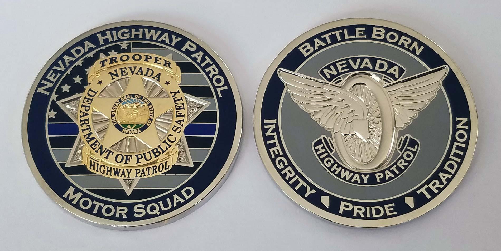 law enforcement challenge coin